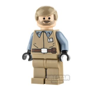Product shot LEGO Star Wars Mini Figure - Crix Madine