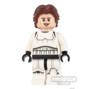 Product shot LEGO Star Wars Mini Figure -  Han Solo - Stormtrooper Outfit