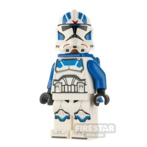 Product shot LEGO Star Wars Minifigure 501st Jet Trooper