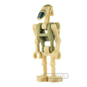 Product shot LEGO Star Wars Minifigure AAT Driver Battle Droid