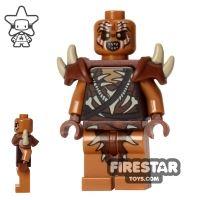 Product shot LEGO The Hobbit Mini Figure - Gundabad Orc - Spiked Armour