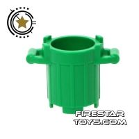 Product shot LEGO - Trash Can - Green