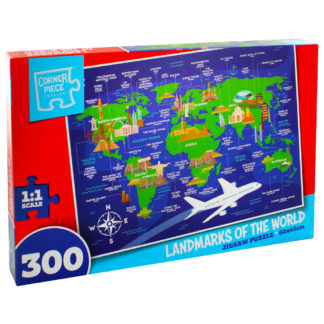Product shot Landmarks Of The World 300 Piece Jigsaw Puzzle