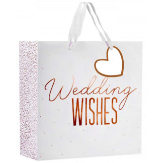 Product shot Large Heart Gift Bag