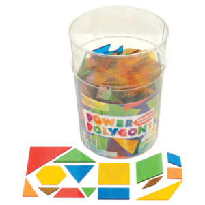 Learning Resources Power Polygons Set of 450