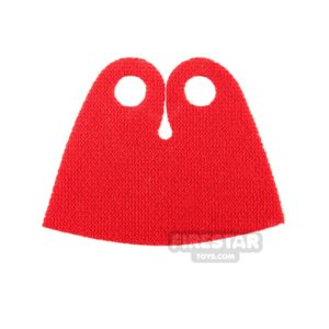Product shot Lego Cape - Short Spongy Stretchable - Red