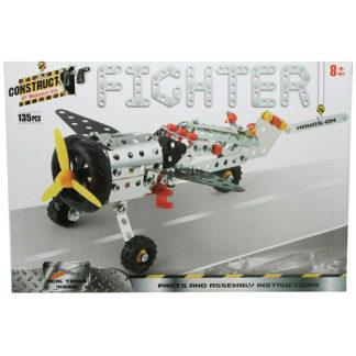 Product shot Metal Aeroplane Model Kit: 135 Pieces