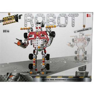 Product shot Metal Robot Model Kit: 317 Pieces