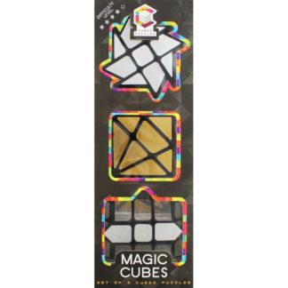 Product shot Metallic Magic Cubed Puzzles - Set Of 3