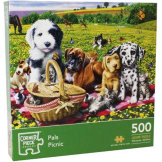 Product shot Pals Picnic 500 Piece Jigsaw Puzzle