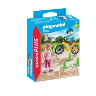 Playmobil 70061 Special Plus Children with Bike & Skates