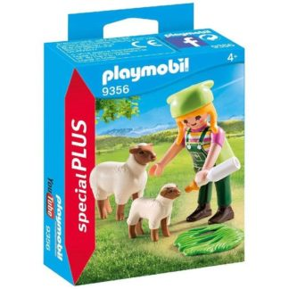 Playmobil 9356 Special Plus Farmer and Sheep Figures