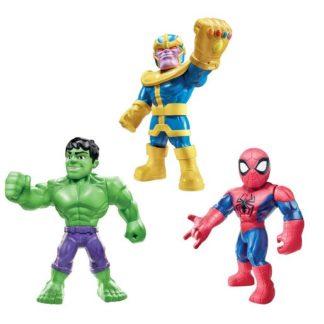 """Playskool Super Hero Adventures Mighties 3 Figures - Hulk"