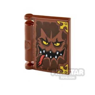 Product shot Printed Book Cover 2x2 - Book of Monsters