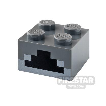Product shot Printed Brick 2x2 - Minecraft Furnace