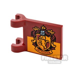 Product shot Printed Flag 2x2 - Gryffindor House Logo