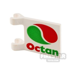 Product shot Printed Flag - Octan