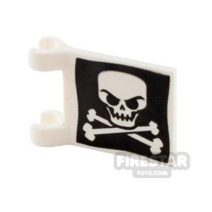 Product shot Printed Flag - Skull and Crossbones