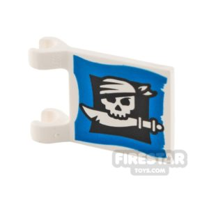 Product shot Printed Flag - Skull and Cutlass