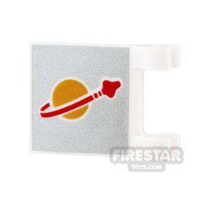 Product shot Printed Flag - Space - Planet