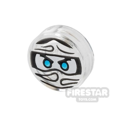 Product shot Printed Round Tile 1x1 - Ninjago Trapped Zane