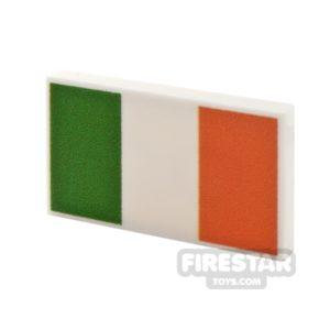 Product shot Printed Tile 2x3 Irish Flag
