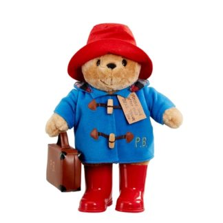 Rainbow Designs Large Classic Paddington Bear with Boots & Suitcase