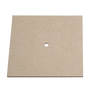 Rapid Square Clock Face Blanks Pack of 10