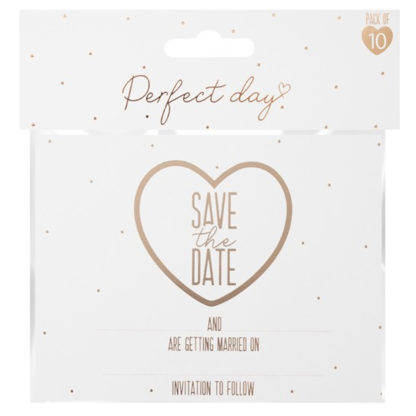 Product shot Save The Date Cards: Pack Of 10