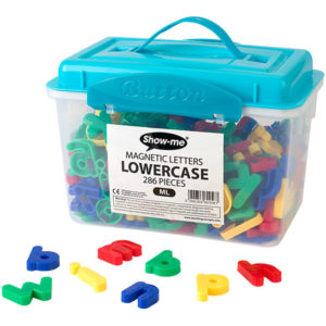 Show-me Magnetic Letters Lower Case (Tub of 286)