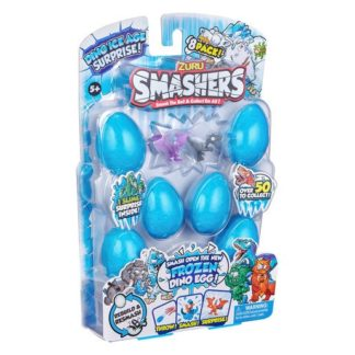 Smashers Dino Ice Age 8 Pack by ZURU