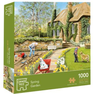 Product shot Spring Garden 1000 Piece Jigsaw Puzzle
