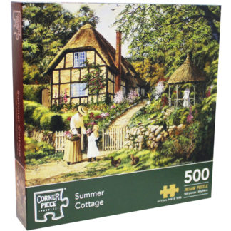 Product shot Summer Cottage 500 Piece Jigsaw Puzzle