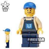 Product shot The LEGO Movie Mini Figure - Plumber Joe