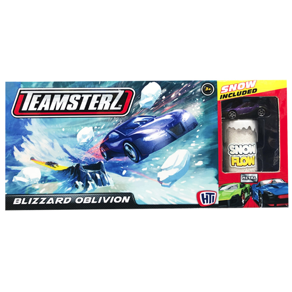 Product shot The Teamsterz Blizzard Blast Track Set