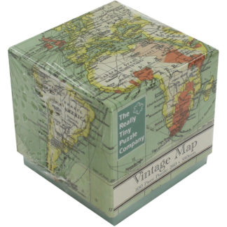 Product shot Vintage Map 100 Piece Jigsaw Puzzle