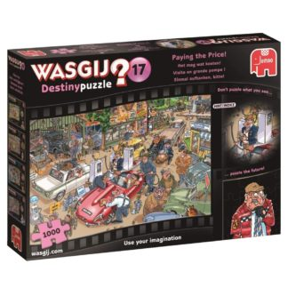 Product shot Wasgij Destiny Paying The Price 1000 Piece Jigsaw Puzzle