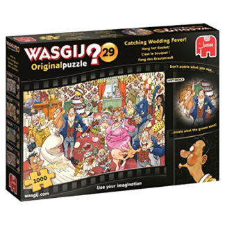 Product shot Wasgij Original 29 Catching Wedding Fever 1000 Piece Jigsaw Puzzle