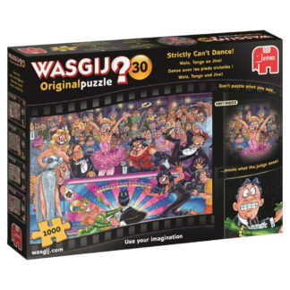 Product shot Wasgij Original 30 Strictly Can't Dance 1000 Piece Jigsaw Puzzle