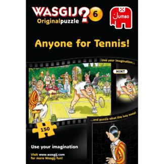 Product shot Wasgij Original 6 Anyone For Tennis 150 Piece Jigsaw Puzzle