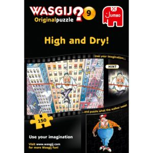 Product shot Wasgij Original 9 High And Dry 150 Piece Jigsaw Puzzle