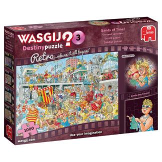 Product shot Wasgij Retro Destiny 3 Sands Of Time 1000 Piece Jigsaw Puzzle