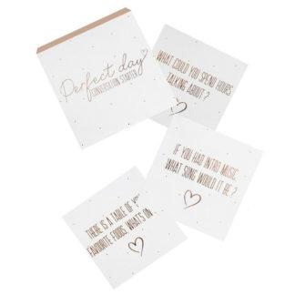 Product shot Wedding Conversation Starter Cards: Pack Of 25