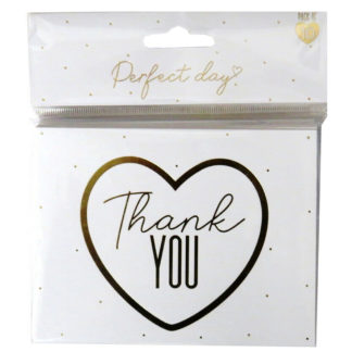 Product shot Wedding Thank You Cards: Pack Of 10