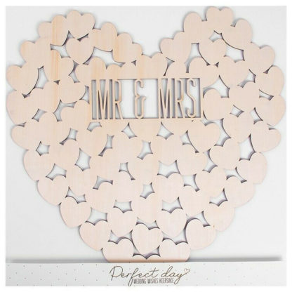 Product shot Wooden Wedding Wishes
