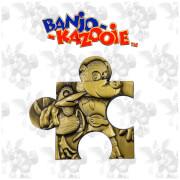 Banjo Kazooie Limited Edition Jigsaw Piece - Jiggy