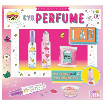 Product shot Create Your Own Perfume Lab
