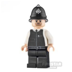 Product shot Custom Design Mini Figure - PC Brick - Policeman