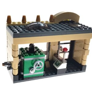 Product shot Custom Mini Set - Super Heroes - Bank Building