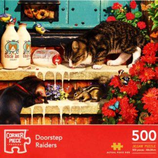 Product shot Doorstep Raiders 500 Piece Jigsaw Puzzle